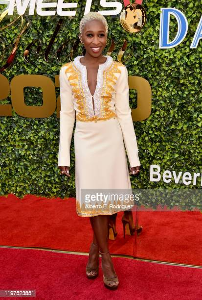 Cynthia Erivo attends the 7th Annual Gold Meets Golden at Virginia Robinson Gardens and Estate on January 04 2020 in Los Angeles California