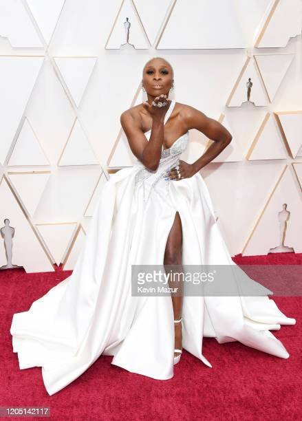 Cynthia Erivo attends the 92nd Annual Academy Awards at Hollywood and Highland on February 09 2020 in Hollywood California