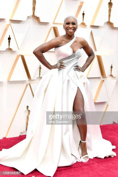 Cynthia Erivo attends the 92nd Annual Academy Awards at Hollywood and Highland on February 09, 2020 in Hollywood, California.