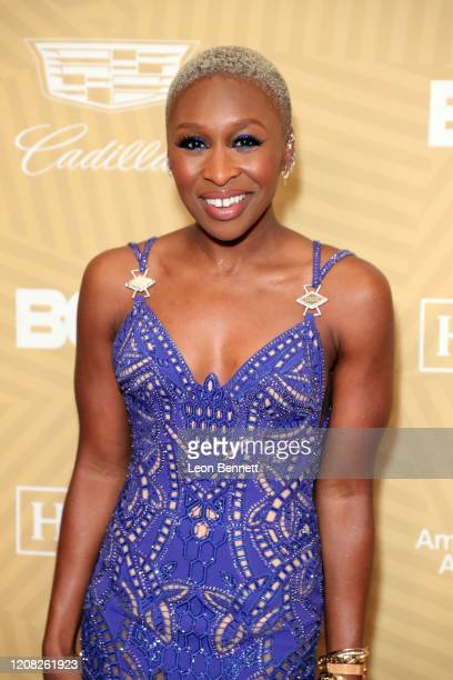 Cynthia Erivo attends the American Black Film Festival Honors Awards Ceremony at The Beverly Hilton Hotel on February 23, 2020 in Beverly Hills,...