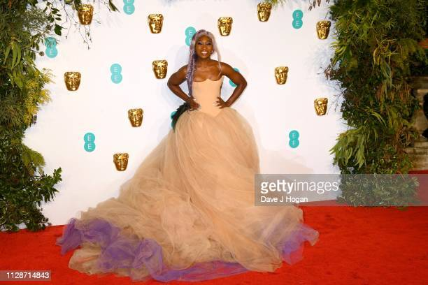 Cynthia Erivo attends the EE British Academy Film Awards at Royal Albert Hall on February 10 2019 in London England