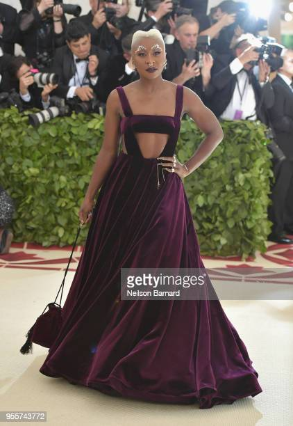 Cynthia Erivo attends the Heavenly Bodies Fashion The Catholic Imagination Costume Institute Gala at The Metropolitan Museum of Art on May 7 2018 in...