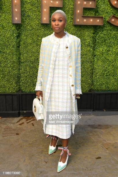 Cynthia Erivo attends the 'Indie Contenders Roundtable' presented by The Hollywood Reporter at AFI FEST 2019 presented by Audi at TCL at Hollywood...
