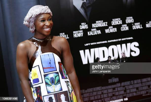 """Cynthia Erivo attends """"Widows"""" New York Special Screening at Brooklyn Academy of Music on November 11, 2018 in New York City."""