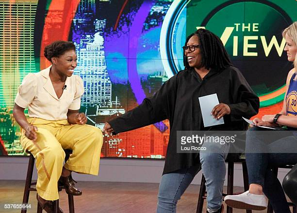 THE VIEW Cynthia Erivo visits THE VIEW 6/2/16 airing on the Walt Disney Television via Getty Images Television Network HAINES
