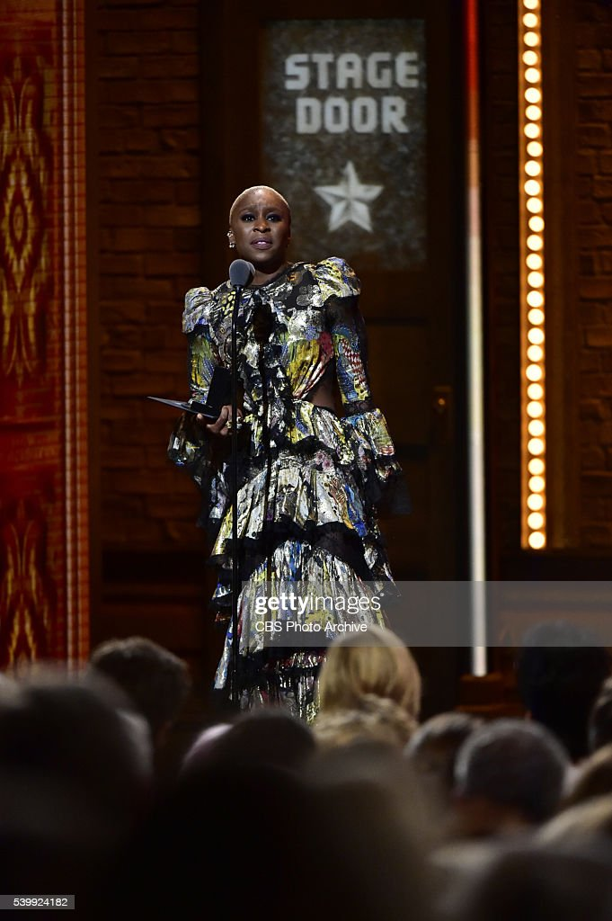 Cynthia Erivo winner of Best Performance by an Actress in a Leading Role in a Musical for The Color Purple at THE 70TH ANNUAL TONY AWARDS, live from the Beacon Theatre in New York City, Sunday, June 12 (8:00-11:00 PM, live ET/ delayed PT) on the CBS Television Network.