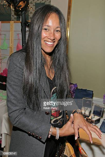 Cynthia Garrett at Oceanus during Luxury Lounge Day 1 at Peninsula Hotel in Beverly Hills CA United States