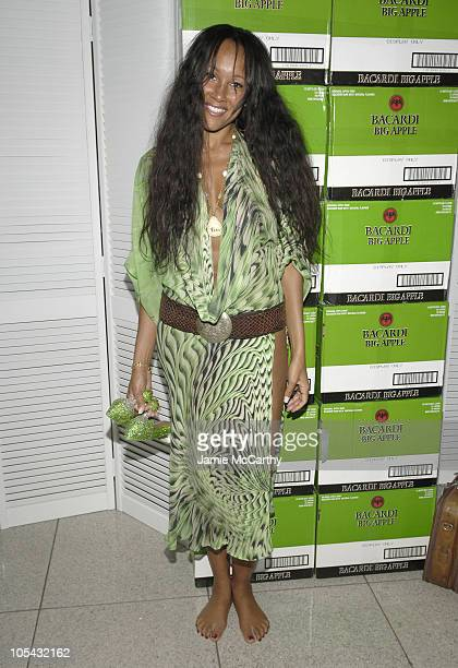 Cynthia Garrett during Bacardi Big Apple Goes High Style at Time Warner Center in New York City New York United States