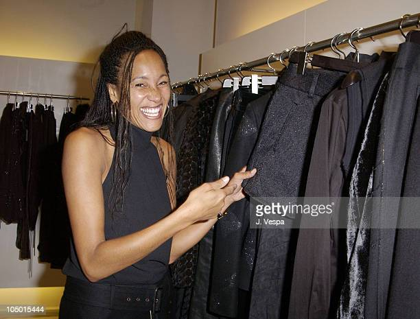 Cynthia Garrett during Costume National Scent Party at Costume National Store in Los Angeles California United States