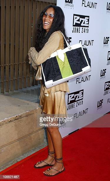 Cynthia Garrett during Rize Los Angeles Premiere Arrivals at The Egyptian Theatre in Hollywood California United States