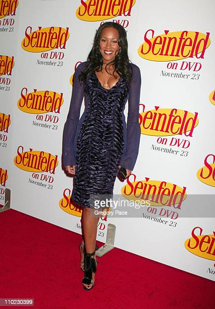 Cynthia Garrett of Life and Style during Seinfeld DVD Release Party at Rockefeller Plaza in New York City New York United States