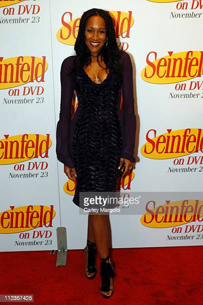 Cynthia Garrett of 'Life and Style' during 'Seinfeld' First 3 Seasons Released on DVD at Rainbow Room in New York City New York United States