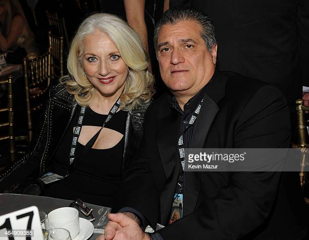 Cynthia Germanotta and Joe Germanotta attend 2014 MusiCares Person Of The Year Honoring Carole King at Los Angeles Convention Center on January 24...