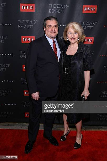 Cynthia Germanotta and Joe Germanotta attend the Netflix World Premiere of The Zen of Bennett at The Tribeca Film Festival afterparty at Tribeca...