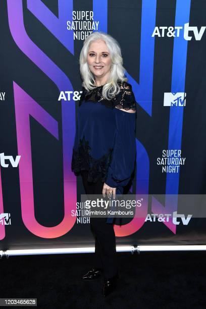 Cynthia Germanotta attends ATT TV Super Saturday Night at Meridian at Island Gardens on February 01 2020 in Miami Florida