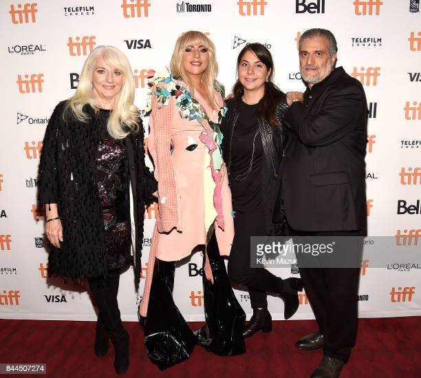 Cynthia Germanotta Lady Gaga Natali Germanotta and Joe Germanotta attend the world premiere of Gaga Five Foot Two during the Toronto International...