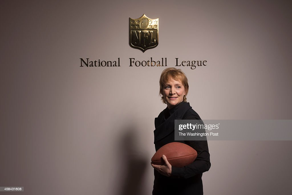 Cynthia Hogan has been hired by the National Football League to help the organization with  their issues of players abusing women. : News Photo