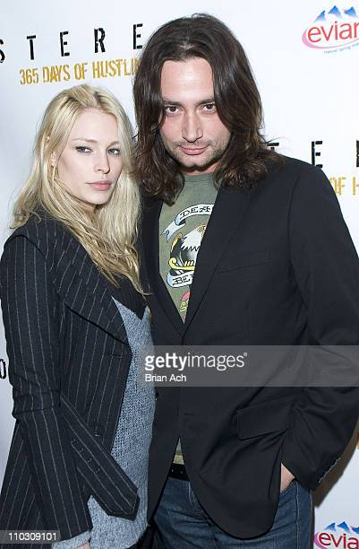Cynthia Kirshner and constantine maroulis during Stereo Nightclub Celebrates its One Year Anniversary at Stereo in New York City New York United...