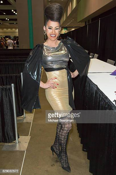 Cynthia Lee Fontaine attends the 2016 RuPaul's DragCon at Los Angeles Convention Center on May 07 2016 in Los Angeles California