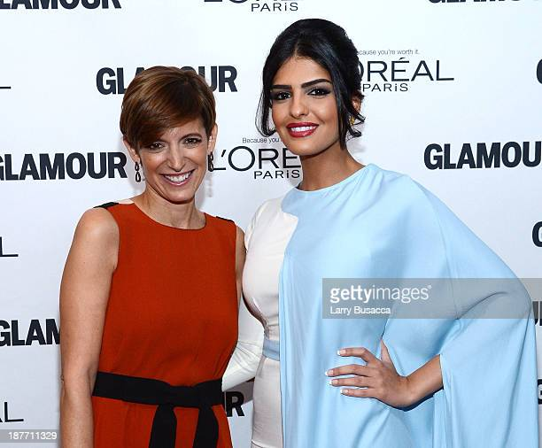 Cynthia Leive and Princess Ameera AlTaweel attend Glamour's 23rd annual Women of the Year awards on November 11 2013 in New York City
