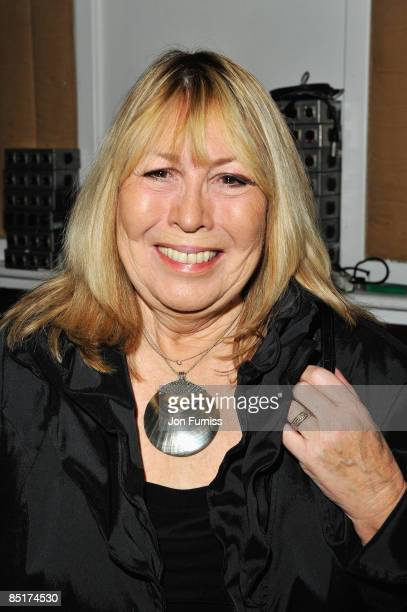 LONDON FEBRUARY 26 Cynthia Lennon attends Sound Vision at Abbey Road Studios on February 26 2009 in London England