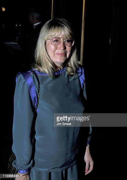Cynthia Lennon during Premiere of 'Imagine' September 3 California United States