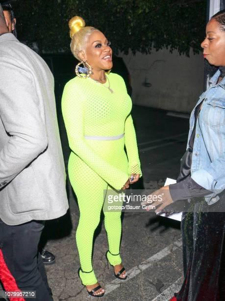 Cynthia Loving aka 'Lil Mo' is seen on January 09 2019 in Los Angeles California