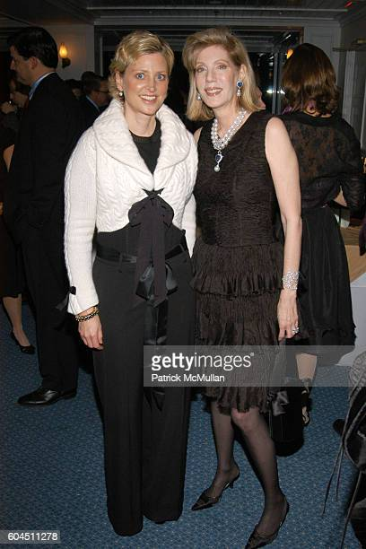 Cynthia Lufkin and Adria de Haume attend AUDUBON CONNECTICUT Fall Dinner Dance Honoring Dan W Lufkin at The Belle Haven Club on November 11 2006 in...