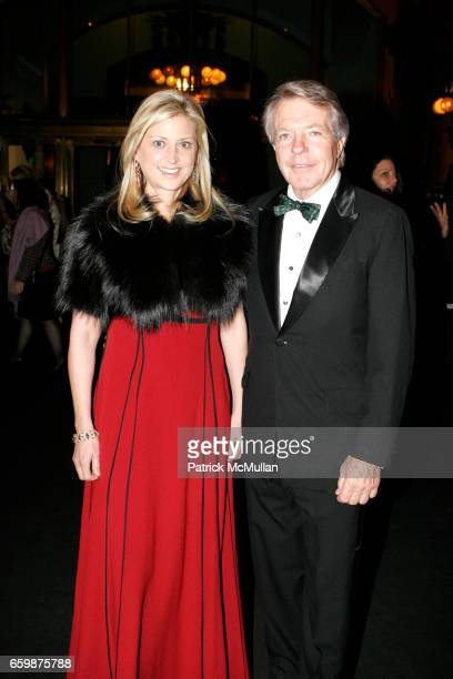 Cynthia Lufkin and Dan Lufkin attend Antiques Art at the Armory at Park Ave Armory on December 2 2009 in New York City