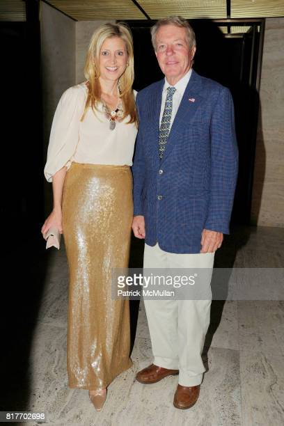 Cynthia Lufkin and Dan Lufkin attend MUSEUM OF THE CITY OF NEW YORK Director's Council Host's NEW YORK AFTER DARK at Pool Room on October 13 2010 in...
