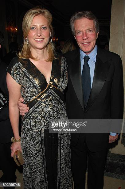 Cynthia Lufkin and Dan Lufkin attend The 11th Annual ASPCA BERGH BALL at Plaza Hotel NYC on April 17 2008 in New York City