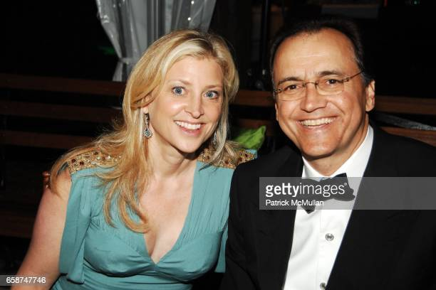 Cynthia Lufkin and Guest attend the Wildlife Conservation Society's Central Park Zoo '09 Gala at the Central Park Zoo on June 10 2009 in New York City