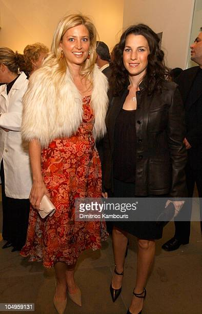 Cynthia Lufkin and Jessica Seinfeld during Safe Horizon's 25th Anniversary Luncheon at Calvin Klein Madison Avenue Store in New York City New York...