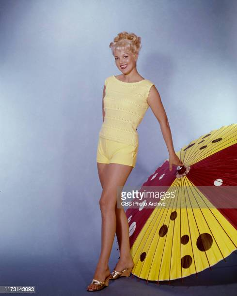 Cynthia Lynn stars as Helga in Hogan's Heroes a CBS television WWII prisoner of war camp situation comedy Initial broadcast September 17 1965