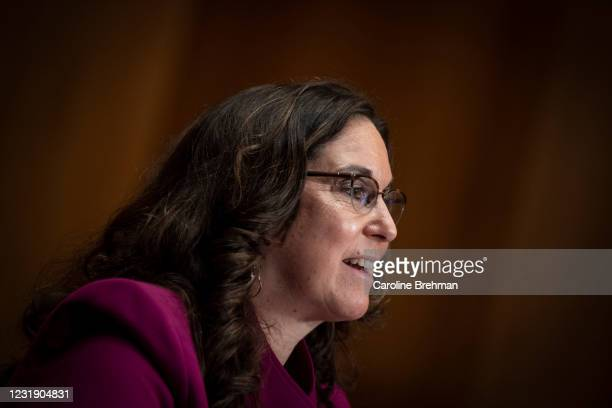 March 24: Cynthia Marten speaks during her nomination hearing to be deputy Education secretary before the Senate Health, Education, Labor and...