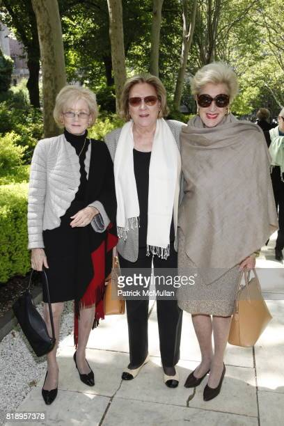 Cynthia Matthews Whitehead Rosemary Weaver and Jane Gould attend The Thirteenth Annual WOMEN SCIENCE Spring Lecture and Luncheon at The Rockefeller...