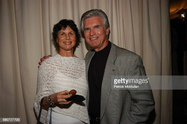 Cynthia McCord and Kent McCord attend Cocktails on Sunset SAG Foundation Benefit Party at Argyle Hotel on July 16 2005 in Los Angeles CA