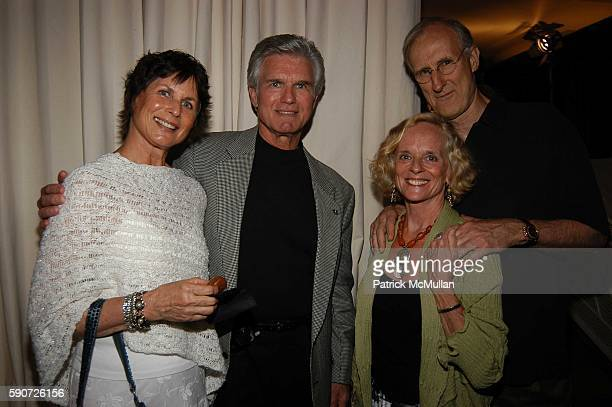 Cynthia McCord Kent McCord James Cromwell and Joan McIntosh attend Cocktails on Sunset SAG Foundation Benefit Party at Argyle Hotel on July 16 2005...