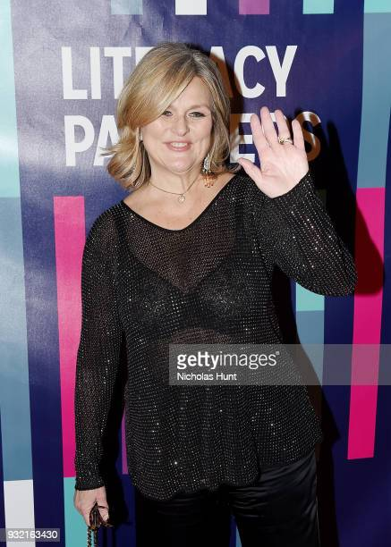 Cynthia McFadden attends the 2018 Literacy Partners Gala at Cipriani Wall Street on March 14 2018 in New York City