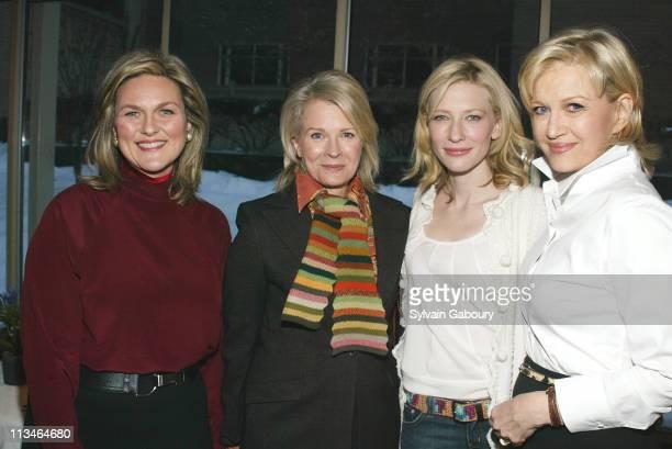 Cynthia McFadden Candice Bergen Cate Blanchett Diane Sawyer