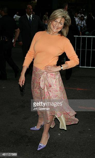 Cynthia McFadden during ABC 20042005 Upfront at Cipriani's in New York City New York United States