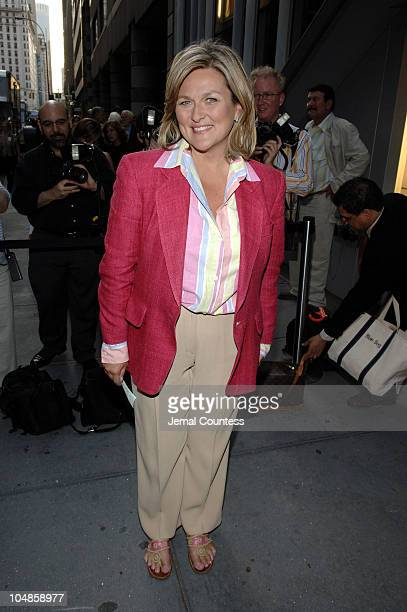 Cynthia McFadden during Dedication or The Stuff of Dreams Opening Night Arrivals at 59E59 Theaters in New York City New York United States