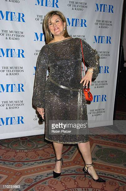 Cynthia McFadden during Merv Griffin Honored at the Museum of Television and Radio's Annual Gala at The Waldorf Astoria Hotel in New York City New...