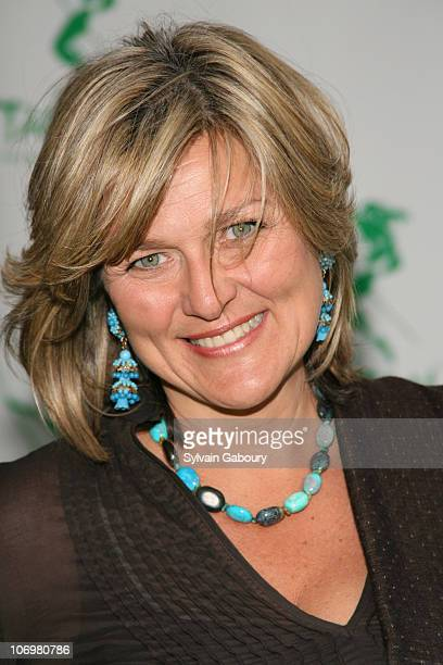 Cynthia McFadden during Opening Night of Tarzan Arrivals at Richard Rodgers Theater in New York NY United States