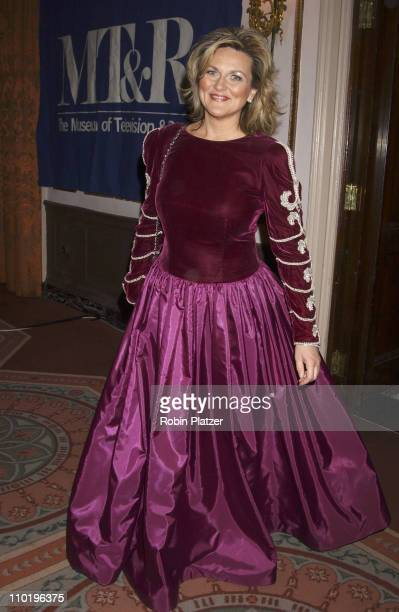 Cynthia McFadden during The Museum of Television and Radio Gala Honoring Tom Brokaw at The Waldorf Astoria in New York City New York United States