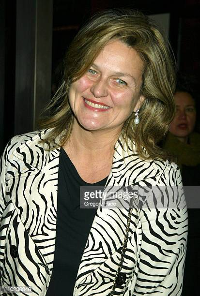 Cynthia McFadden during The Phantom of the Opera New York Premiere Inside Arrivals at Ziegfield Theater in New York City New York United States
