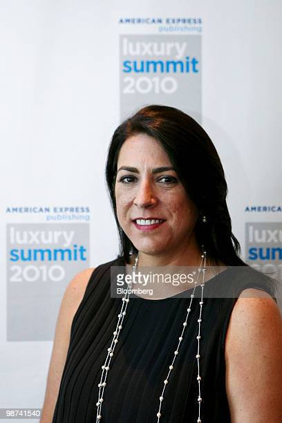 Cynthia McFarlane president of Saatchi Saatchi Ltd's Latin America unit and chairman of Conill stands for a photo during the Luxury Summit 2010 in...
