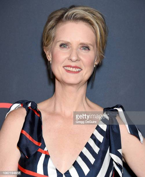 Cynthia Nixon arrives at Out Magazine's OUT100 Awards Celebration Presented By Lexus at Quixote Studios on November 15 2018 in Los Angeles California
