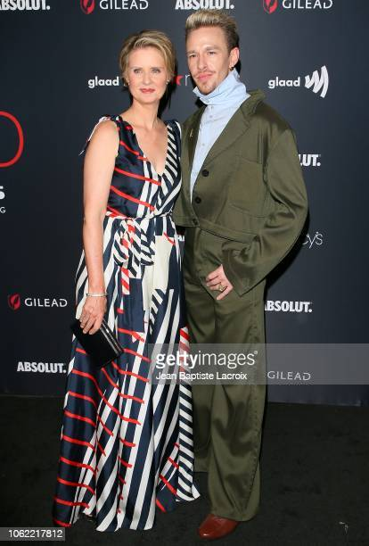 Cynthia Nixon attends Out Magazine's OUT100 Awards Celebration Presented By Lexus at Quixote Studios on November 15 2018 in Los Angeles California