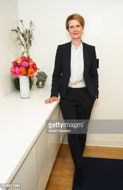 Cynthia Nixon attends PRIDE PLACE at Samsung 837 Conversation with Cynthia Nixon on June 19 2018 in New York City